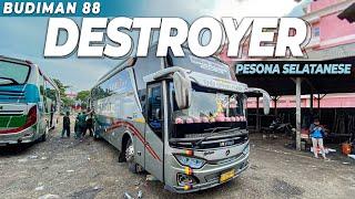 Bandung Wonogiri Naik Bus Artisnya Budiman 88 The Destroyer Pesona Jalur Selatanese