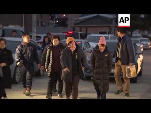 Family visits site of Sewol ferry salvage