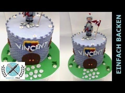 Ritter Torte Fondant Torte Castle Cake Knight Cake 3d Torte