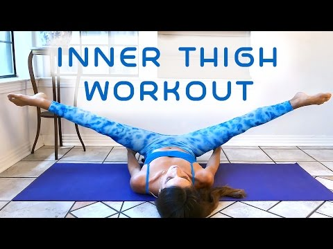 Slim Legs & Inner Thighs Workout for Beginners, 20 Minute At