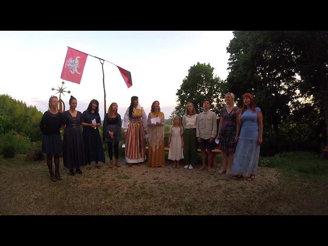 Baltic traditional singing course 2019 - ESTONIAN GROUP singing EIA TUIA