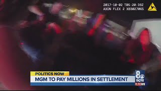 Politics Now MGM Settlement