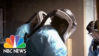 Coronavirus Testing Lines Stretch For Blocks As Cases Surge Across The U.S | NBC Nightly News