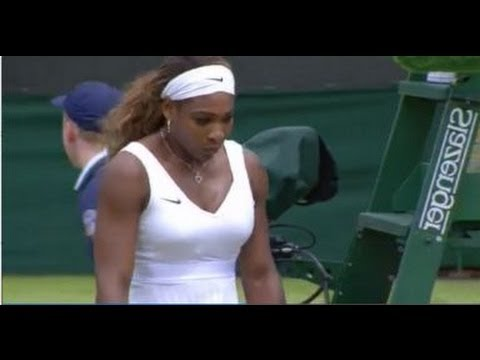 (6/29/1014) Serena Williams vs Alize Cornet 2014 Wimbledon Recap & Review Highlights