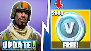 *NEW* Fortnite Update! | Free 2000 Vbucks, OG S1 Skin, $3 Billion USD!