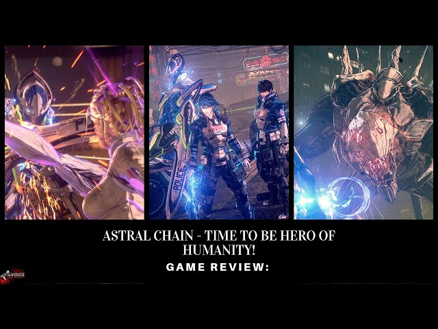 """Game Review: """"Astral Chain"""" Platinum Games has done it again!"""