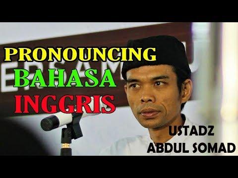 Ustad Abdul Somad super kocak berbahasa Inggris