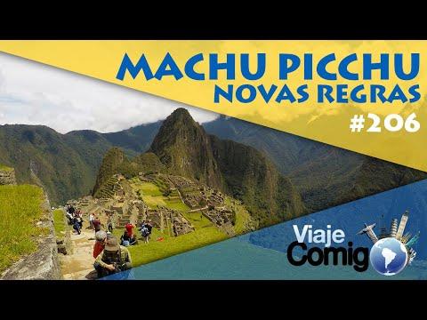 MACHU PICCHU - Novas regras para visitar 2020 | PERU | SÉRIE VIAJE COMIGO