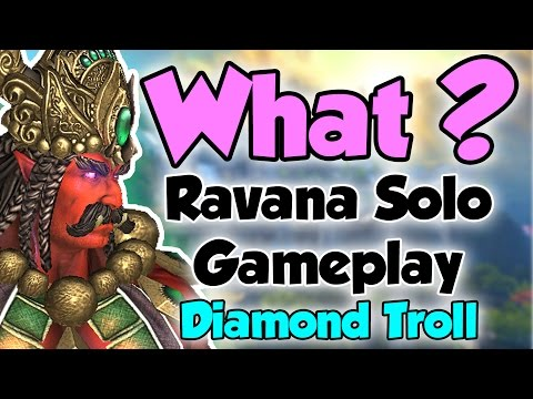 Smite: What?- Ravana Solo Gameplay