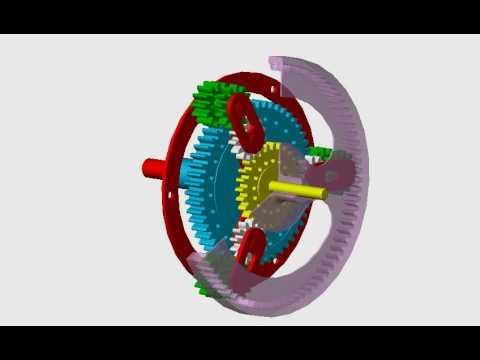 Planetary Gear Set >> drive ravigneaux - YouTube