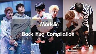 #MarkJin Back Hug Compilation