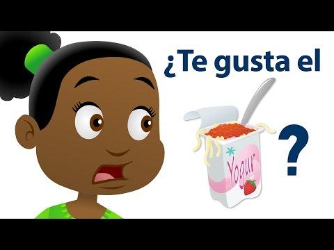 ¿Te Gusta El Yogur De Espagueti?   Canciones Infantiles   Super Simple Español