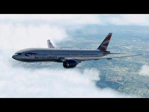 (X-Plane 11) Heathrow To Zagreb | Boeing 777-200LR