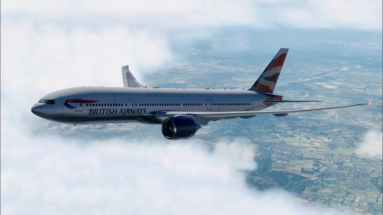 (X-Plane 11) Heathrow to Zagreb | Boeing 777-200LR