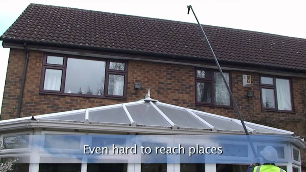 Gutter Cleaning Suffolk The Skyvac System Youtube