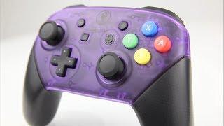 ATOMIC PURPLE  Nintendo Switch Pro Controller Mod DIY Installation