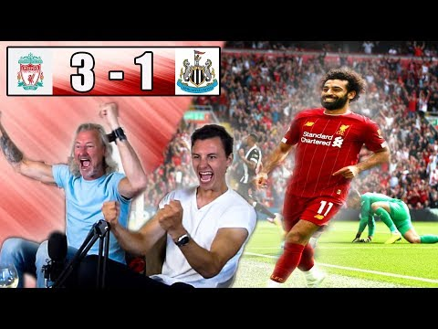 LIVERPOOL 3-1 NEWCASTLE FAN REACTION