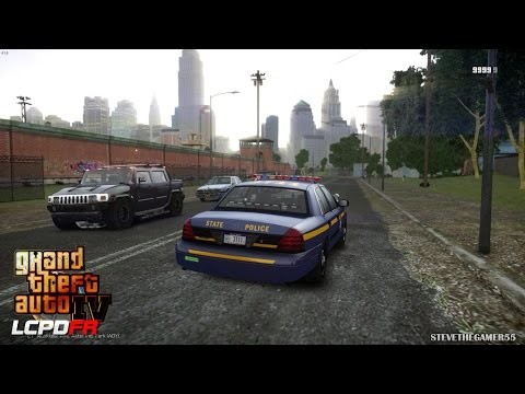 GTA 4 - LCPDFR - EPiSODE 52 - NEW YORK STATE POLICE (NYSP CV
