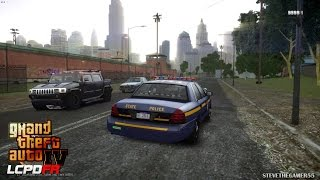 GTA 4 - LCPDFR - EPiSODE 52 - NEW YORK STATE POLICE (NYSP CVPI) UNCUT