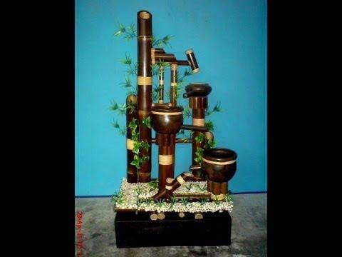 Katalok produk kerajinan miniatur air mancur