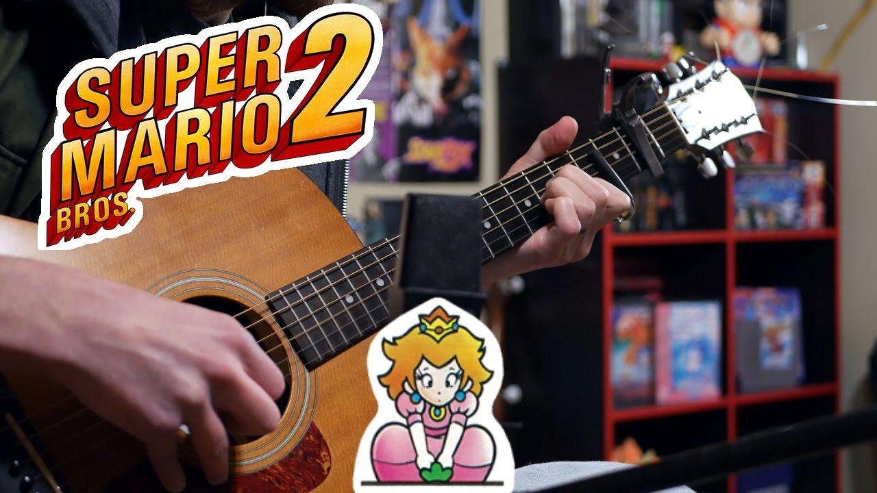 Kunci guitar super mario bros