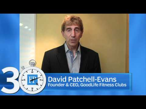 How do you measure success?  David Patchell-Evans