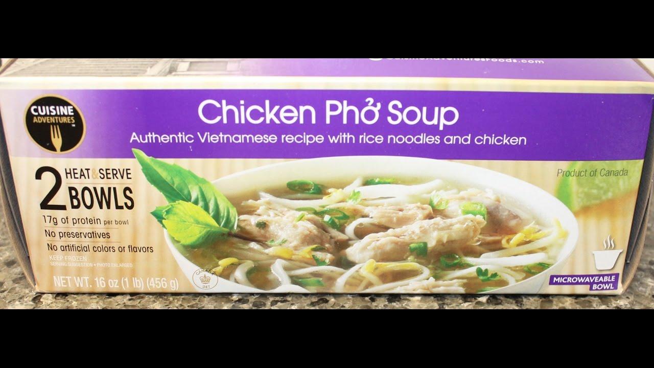 Cuisine Adventures Chicken Pho Soup Review