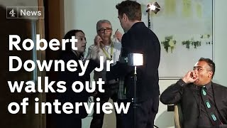 Robert Downey Jr full interview: star walks out when asked about past thumbnail