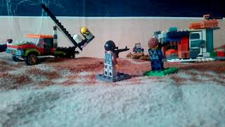 Лего ванная база нападение