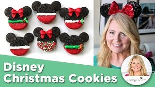 Disney Christmas Cookies - EASY No-Bake Recipe