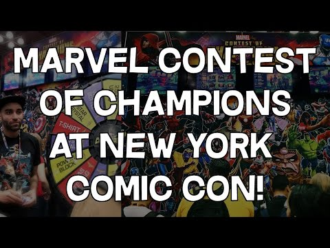 Comic Con 2020 New York Marvel Contest of Champions at New York Comic Con!   New