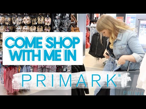 COME SHOP WITH ME IN PRIMARK JUNE 2018