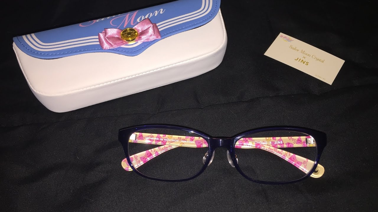 ca78a195cd Sailor Moon Crystal Jins Collaboration Glasses - YouTube