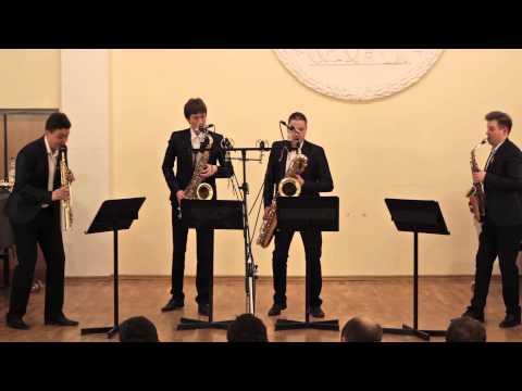 Russian Sax Quartet — A. Piazzolla, Histoire du Tango: Cafe 1930 and Concert d'Aujourd'hui