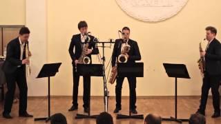 Russian Sax Quartet — A. Piazzolla, Histoire du Tango: Cafe 1930 and Concert d