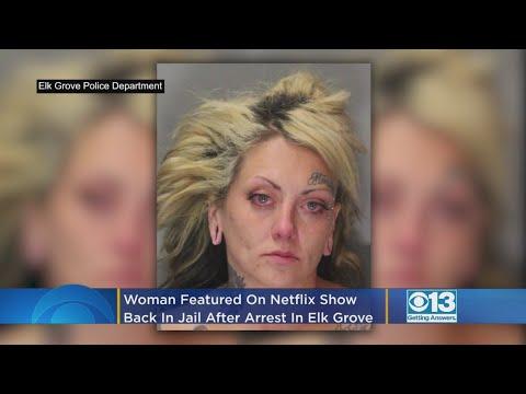 Mazzy - Jailbirds Megan 'Monster' Hawkins busted in Elk Grove...