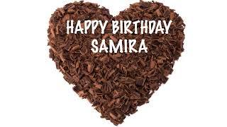 Samira  Chocolate - Happy Birthday
