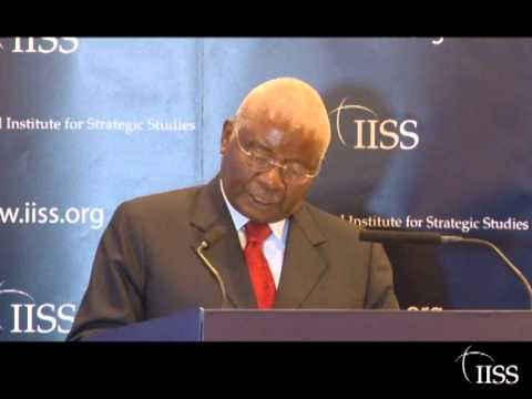 2012 Oppenheimer Lecture: New Threats to the peace and security of Africa and the world
