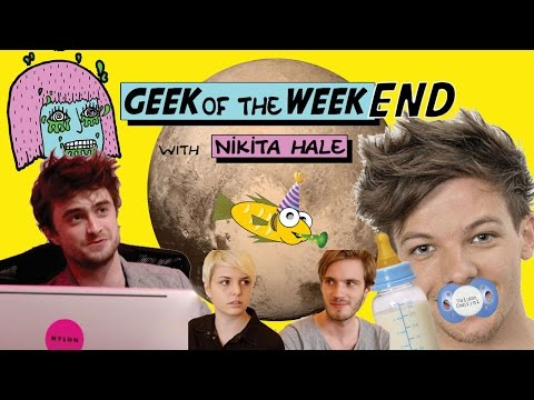 Pluto, Pewdiepie Interview, 1D, Danielle Radcliffe & A 38 Year Old Fish?!