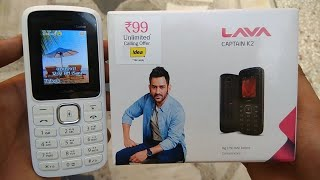 Best Feature Phone Under Rs.1000 $10 Lava Captain K2