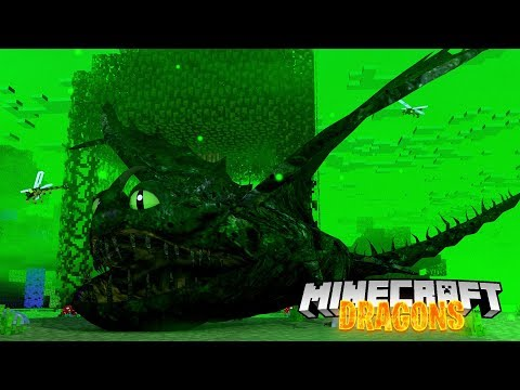 THE MYSTERY DRAGON BEAST EATS PEOPLE! - Minecraft Dragons