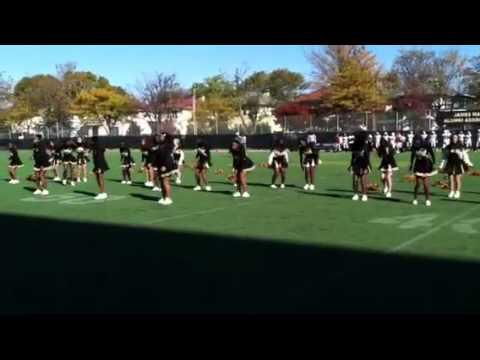 Madison cheerleaders