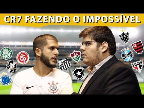 CRISTIANO RONALDO FAZENDO O IMPOSSÍVEL NOS CLUBES BRASILEIROS