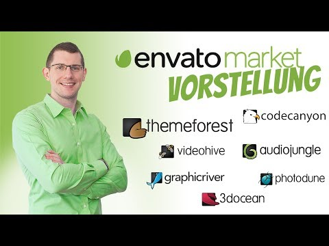 Der Envato Market erklärt – Themeforest, Codecanyon etc. Tutorial Deutsch thumbnail
