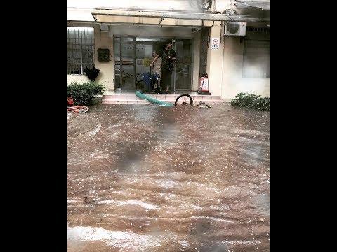 Сезон дождей в Гуанчжоу, Китай