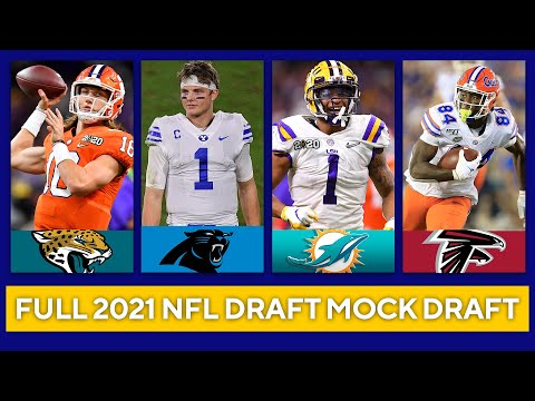 2021 NFL Mock Draft | FULL 1st Round with Trades | CBS Sports HQ