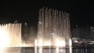 Dubai Dancing Fountain..