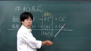 【化学基礎】酸塩基反応⑨~簡単な中和の考え方~