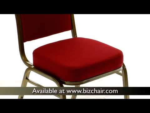 Burgundy Hercules Crown Back Banquet Chair Goldvein Frame  (FD C01 GOLDVEIN 3169 GG)