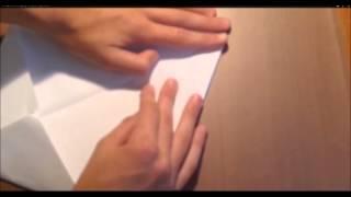 Оригами: хлопушка из бумаги